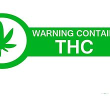 Warning Contains THC by LIT-DEMAND