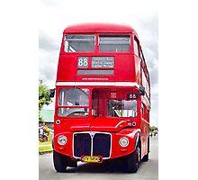 88 Bus: Shepherd's Bush via Thirlmere Photographic Print