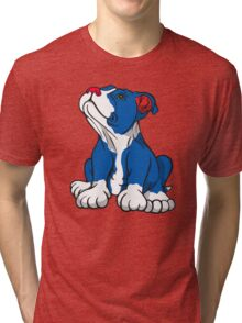 American Pit Bull Puppy  Tri-blend T-Shirt