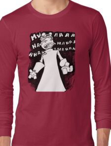 Doctor Horrible - Non Transparent Evil Laugh Long Sleeve T-Shirt