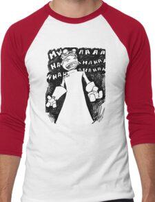 Doctor Horrible - Non Transparent Evil Laugh Men's Baseball ¾ T-Shirt