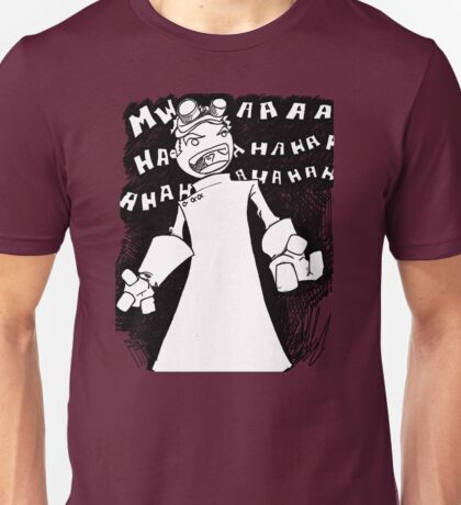 Doctor Horrible - Non Transparent Evil Laugh Unisex T-Shirt