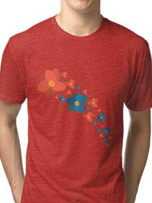 """Olly flowers from """"The Nomadics""""  Tri-blend T-Shirt"""