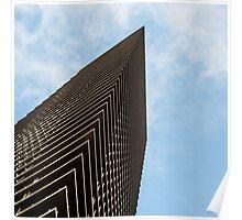 Modern Melbourne Architecture Poster