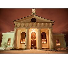 A Greek Temple or a Swedish Church? Photographic Print
