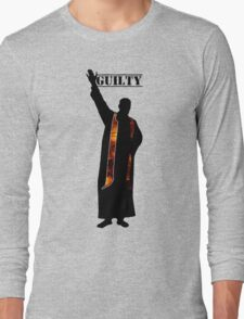 Guilty Priest (Silhouette)  Long Sleeve T-Shirt