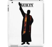 Guilty Priest (Silhouette)  iPad Case/Skin