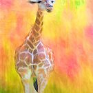 Tall Giraffe Loveliness  by daphsam