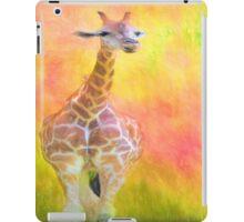 Tall Giraffe Loveliness  iPad Case/Skin