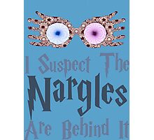 Harry Potter - I Suspect the Nargles Are Behind It Photographic Print