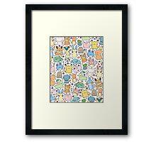 Kawaii Pokémon Framed Print