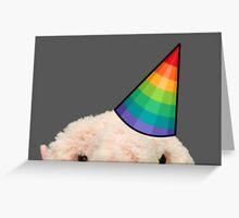 Blobfish party animal Greeting Card