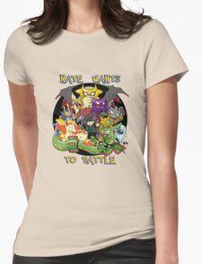 Natewantstobattle Womens Fitted T-Shirt