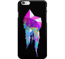 Rainbow Crystallized Tooth Design iPhone Case/Skin