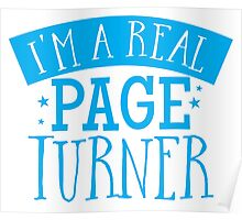 I'm a real page turner Poster