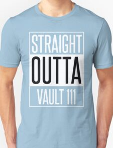 Straight Outta Vault 111 T-Shirt