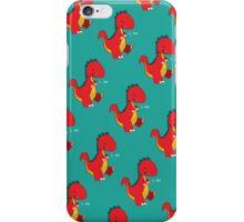 Dancing Dino Pattern iPhone Case/Skin