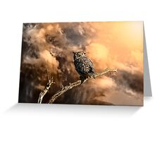 Coming Storm - Color Greeting Card