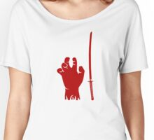 The Walking Dead - Michonne Katana Women's Relaxed Fit T-Shirt