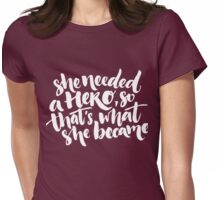 Feminism quote Womens Fitted T-Shirt