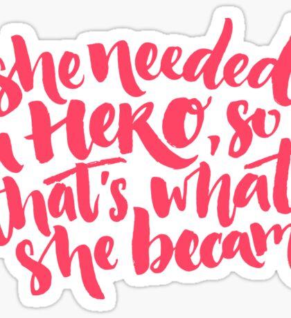 Feminism quote Sticker
