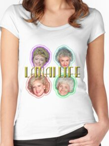 The Golden Girls--The OGG Women's Fitted Scoop T-Shirt