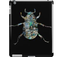 Trash Beetle (Black) iPad Case/Skin