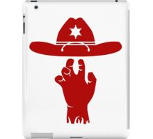 The Walking Dead - Rick Grimes iPad Case/Skin