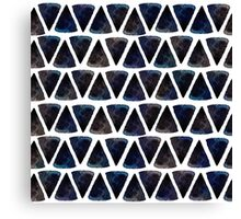 Ink triangles Canvas Print
