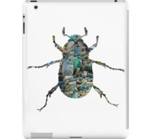 Trash Beetle (White) iPad Case/Skin