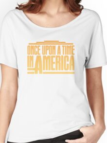 Once Upon A Time In America (1984) Movie Women's Relaxed Fit T-Shirt