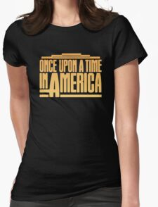 Once Upon A Time In America (1984) Movie Womens Fitted T-Shirt