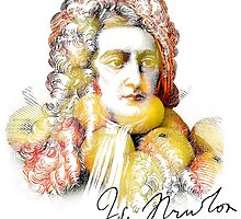 Apple Isaac Newton by 2mdesigns