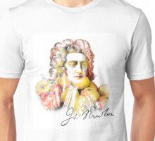 Apple Isaac Newton Unisex T-Shirt