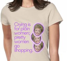 Blanche Deveraux Explains It All Womens Fitted T-Shirt