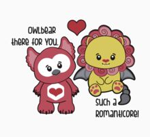 Owlbear there for you - Such a Romanticore Baby Tee