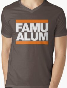 FAMU Alum Collection by Graphic Snob® Mens V-Neck T-Shirt