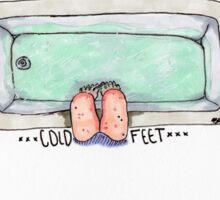 Cold Feet Sticker