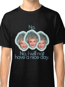 "Dorothy Zbornak Says ""Buzz Off"" Classic T-Shirt"