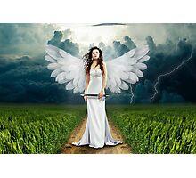 Beautiful angel graph Photographic Print