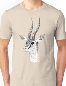 Animal Drawing - Antelope  Unisex T-Shirt
