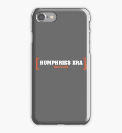 Humphries Era Collection by Graphic Snob® iPhone Case/Skin