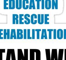 I Stand With Seaworld Sticker