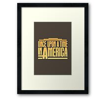 Once Upon A Time In America (1984) Movie Framed Print