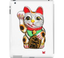Maneki Neko, Lucky Cat iPad Case/Skin