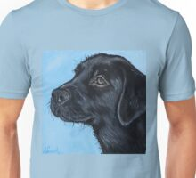 Black Labrador Puppy Unisex T-Shirt