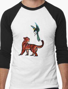 Tiger and Magpie Men's Baseball ¾ T-Shirt