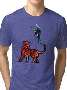 Tiger and Magpie Tri-blend T-Shirt