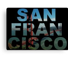 San Francisco 2 Canvas Print