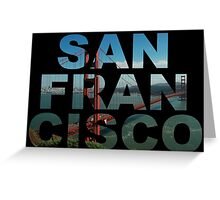 San Francisco 2 Greeting Card